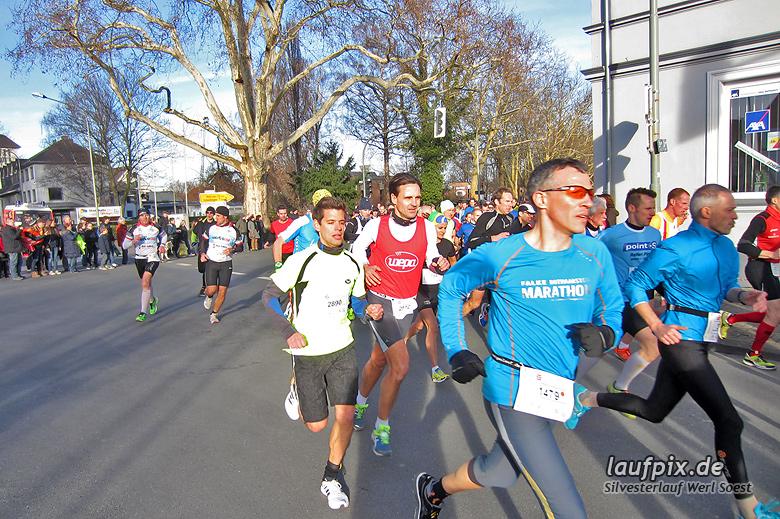 Silvesterlauf Werl Soest - Start 2013 - 15