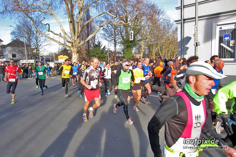 Silvesterlauf Werl Soest - Start 2013 - 26