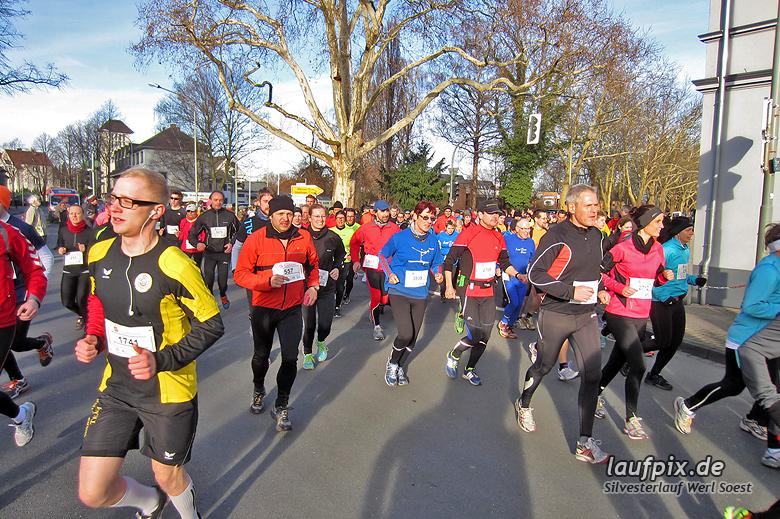 Silvesterlauf Werl Soest - Start 2013 - 472