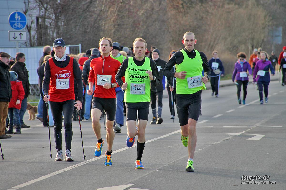 Silvesterlauf Werl Soest - Strecke 2013 - 21