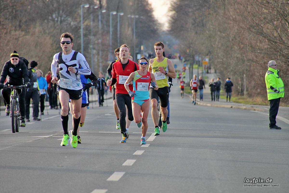 Silvesterlauf Werl Soest - Strecke 2013 Foto (36)
