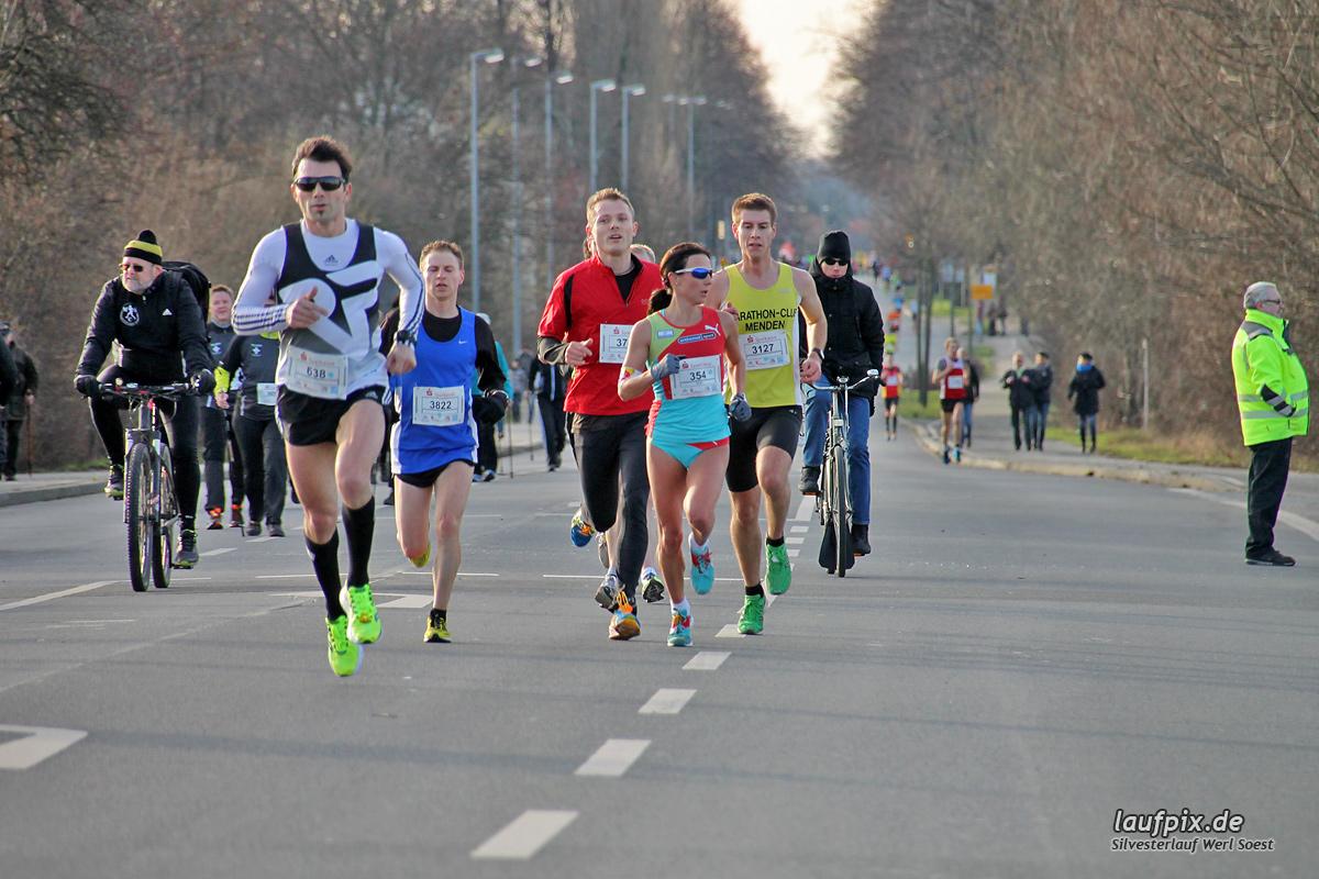 Silvesterlauf Werl Soest - Strecke 2013 - 37