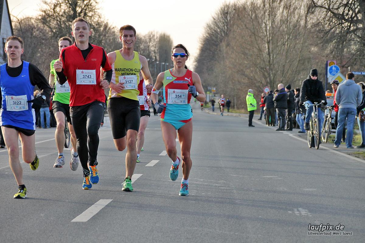 Silvesterlauf Werl Soest - Strecke 2013 - 41