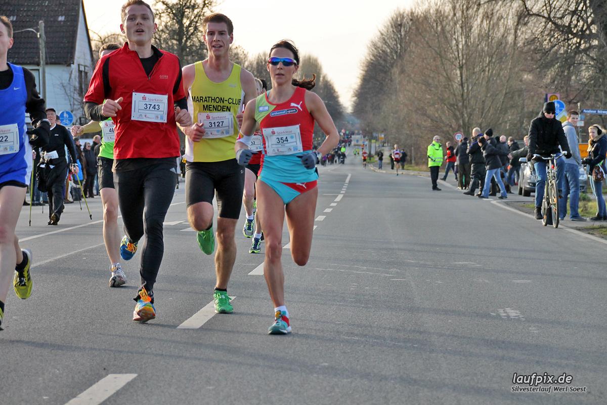 Silvesterlauf Werl Soest - Strecke 2013 Foto (42)