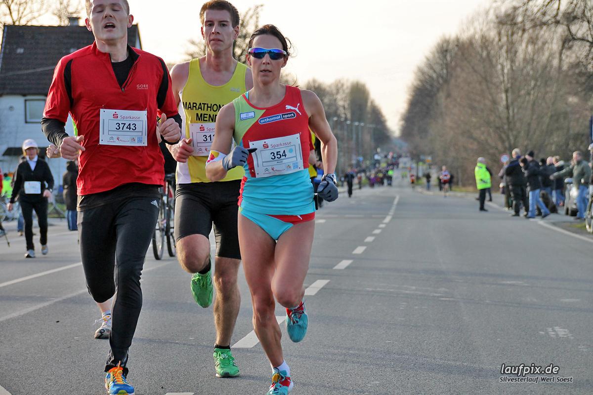 Silvesterlauf Werl Soest - Strecke 2013 - 43