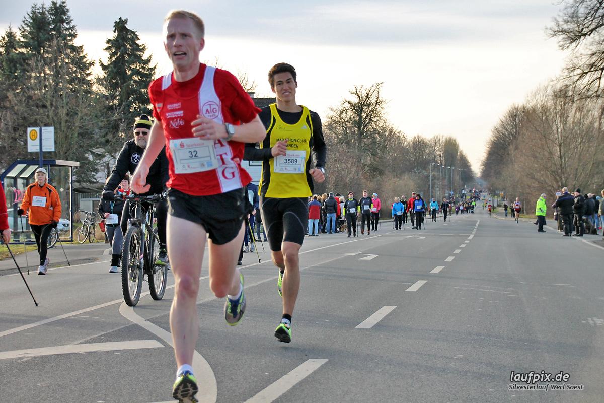 Silvesterlauf Werl Soest - Strecke 2013 Foto (45)
