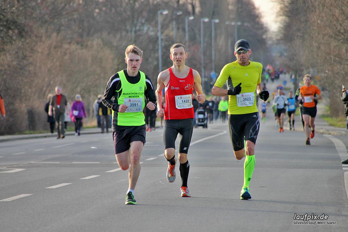 Silvesterlauf Werl Soest - Strecke 2013 Foto (54)