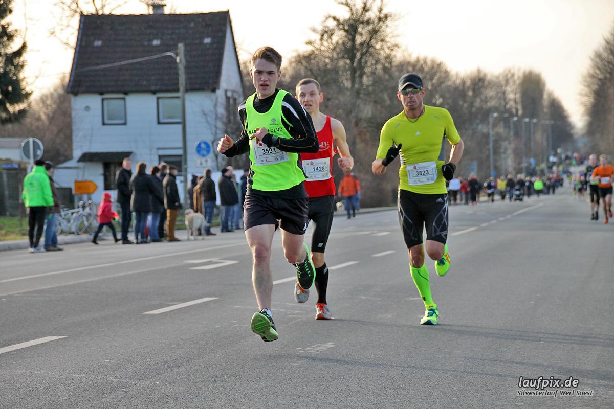 Silvesterlauf Werl Soest - Strecke 2013 Foto (55)