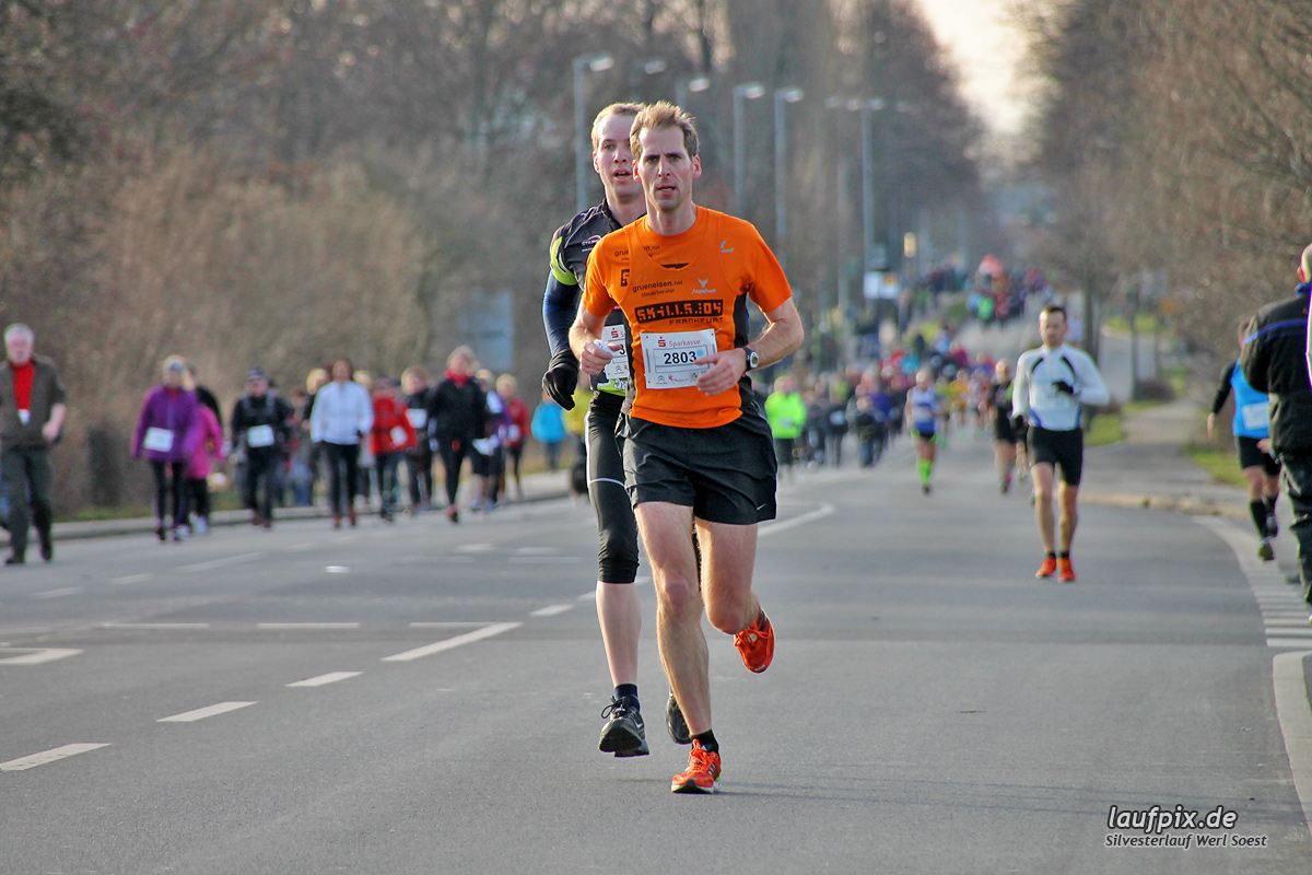 Silvesterlauf Werl Soest - Strecke 2013 Foto (58)
