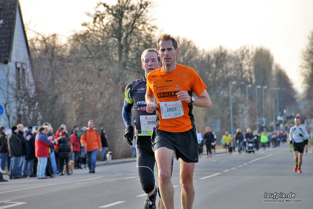 Silvesterlauf Werl Soest - Strecke 2013 Foto (59)