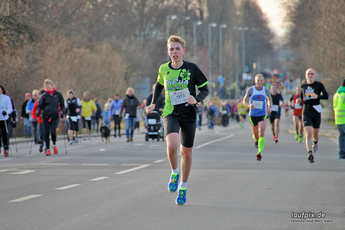Silvesterlauf Werl Soest - Strecke 2013 Foto (63)