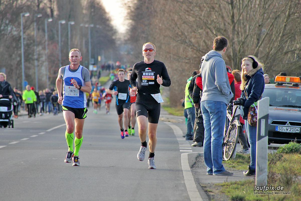 Silvesterlauf Werl Soest - Strecke 2013 Foto (65)