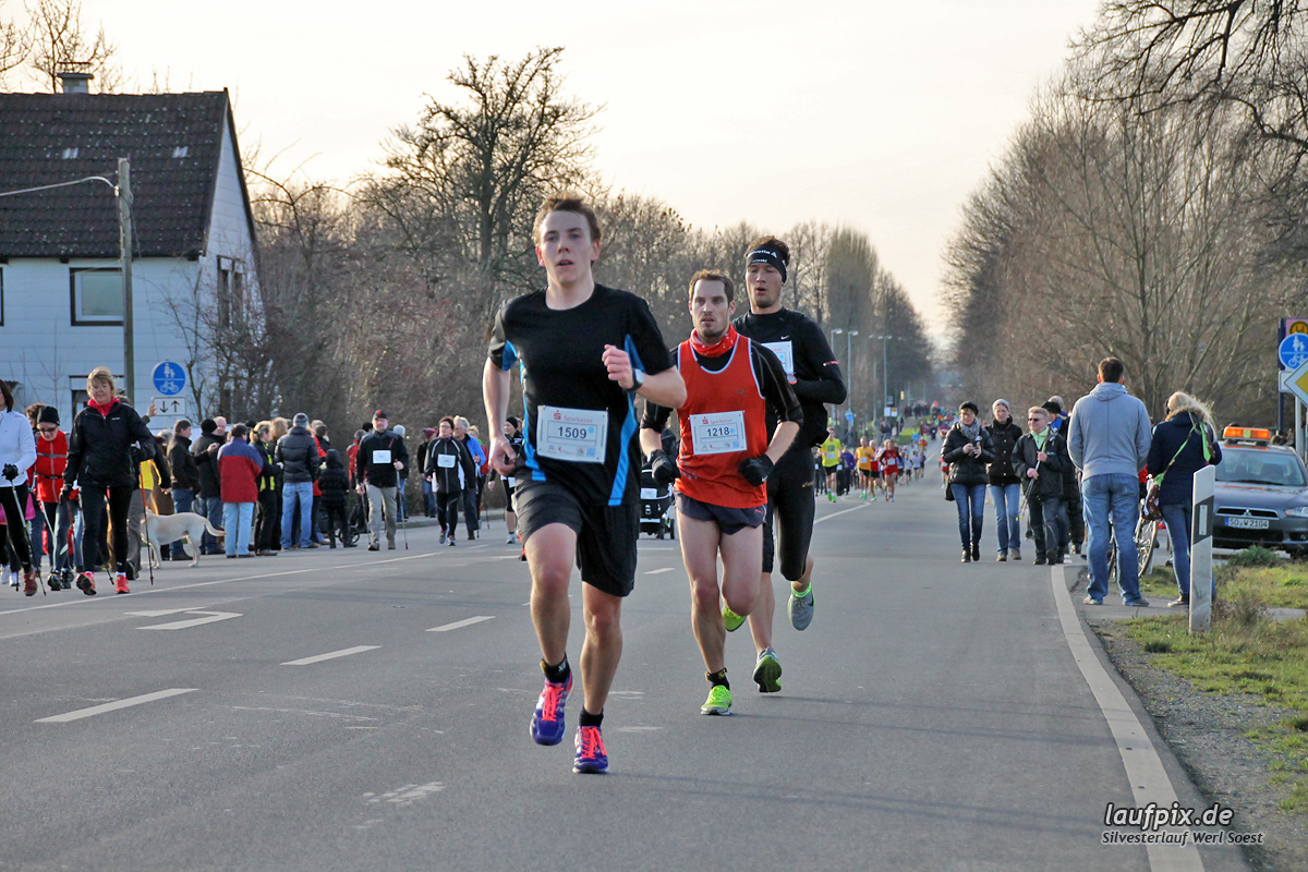 Silvesterlauf Werl Soest - Strecke 2013 - 71