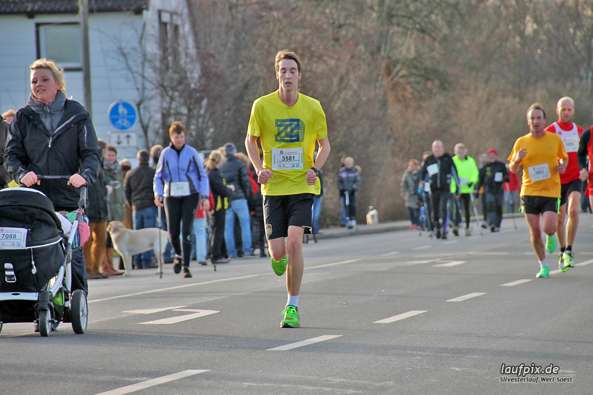 Silvesterlauf Werl Soest - Strecke 2013 Foto (73)