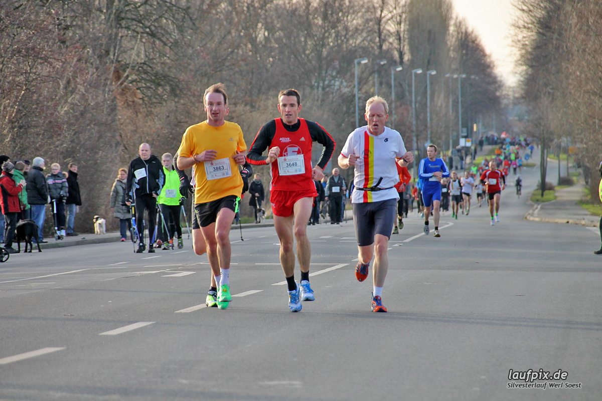 Silvesterlauf Werl Soest - Strecke 2013 - 74