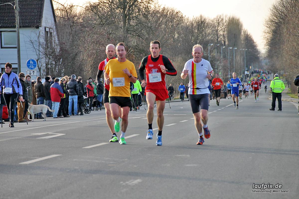 Silvesterlauf Werl Soest - Strecke 2013 Foto (76)