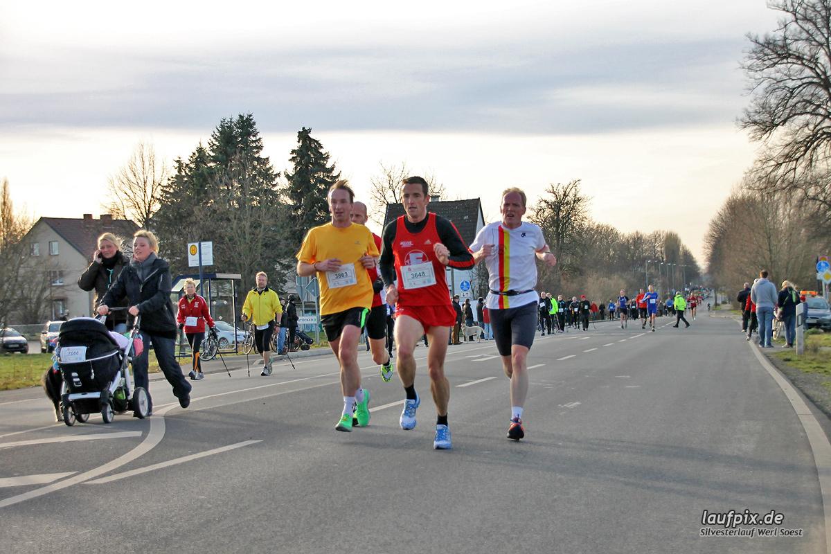 Silvesterlauf Werl Soest - Strecke 2013 - 79