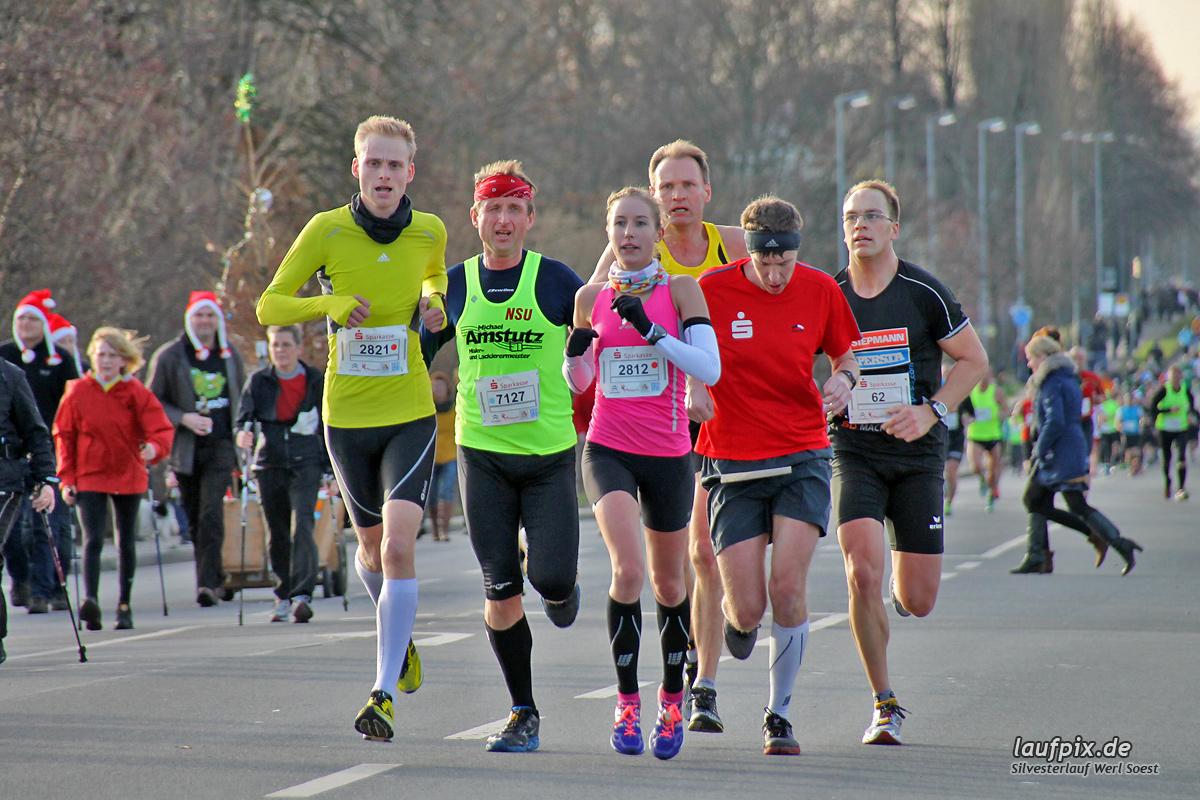 Silvesterlauf Werl Soest - Strecke 2013 - 102