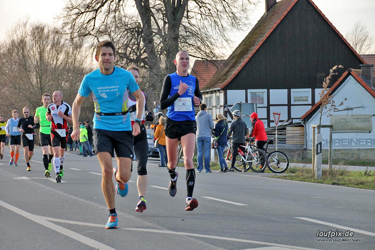 Silvesterlauf Werl Soest - Strecke 2013 - 135