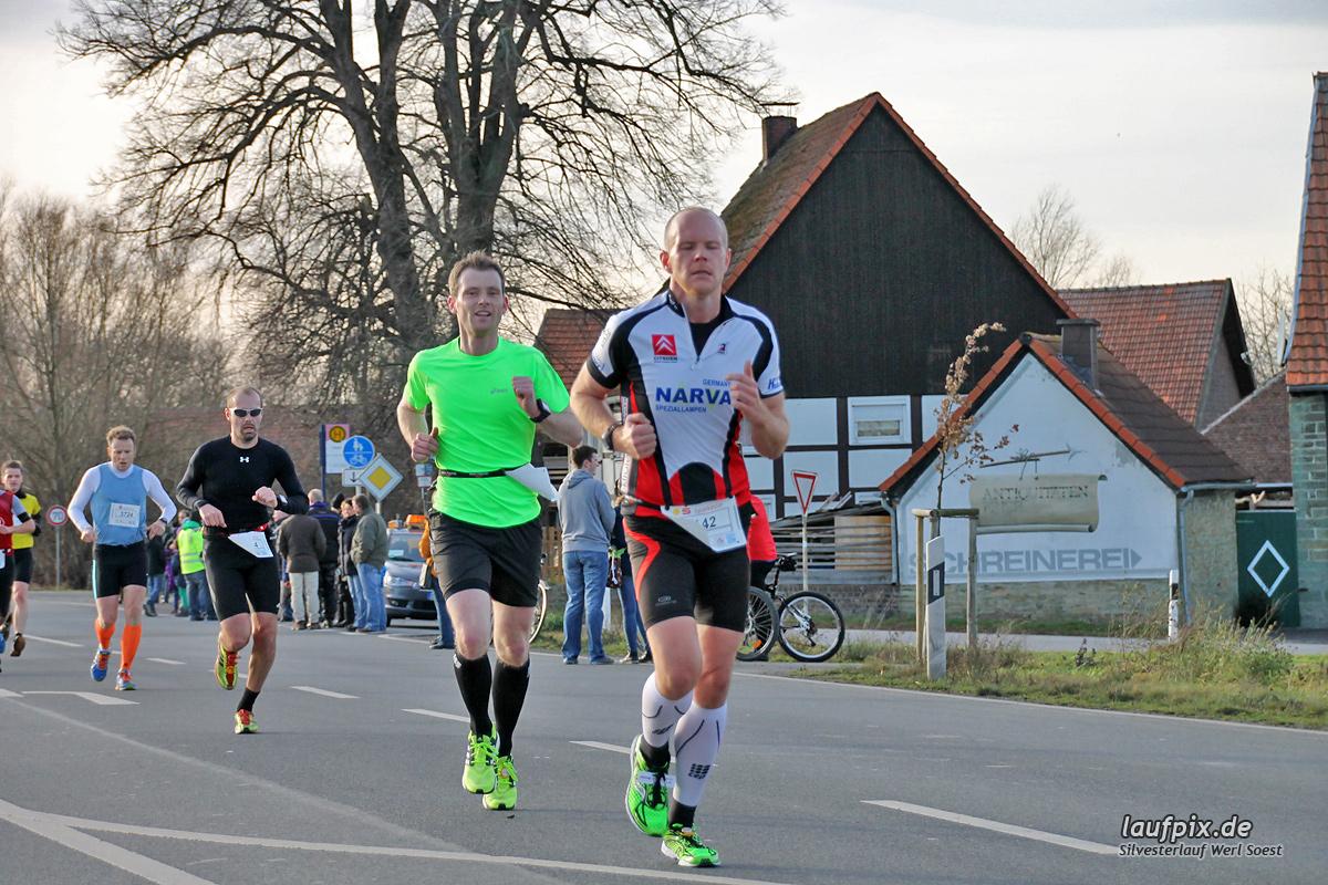 Silvesterlauf Werl Soest - Strecke 2013 - 136