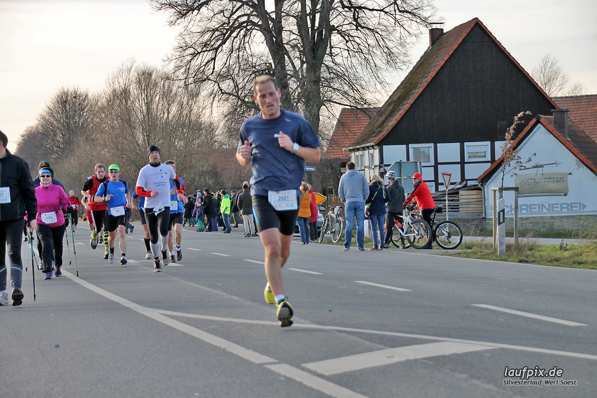 Silvesterlauf Werl Soest - Strecke 2013 - 147