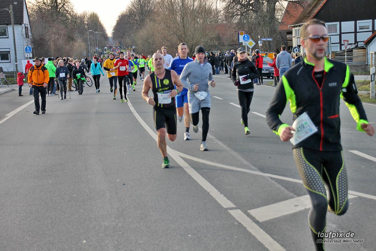 Silvesterlauf Werl Soest - Strecke 2013 - 180