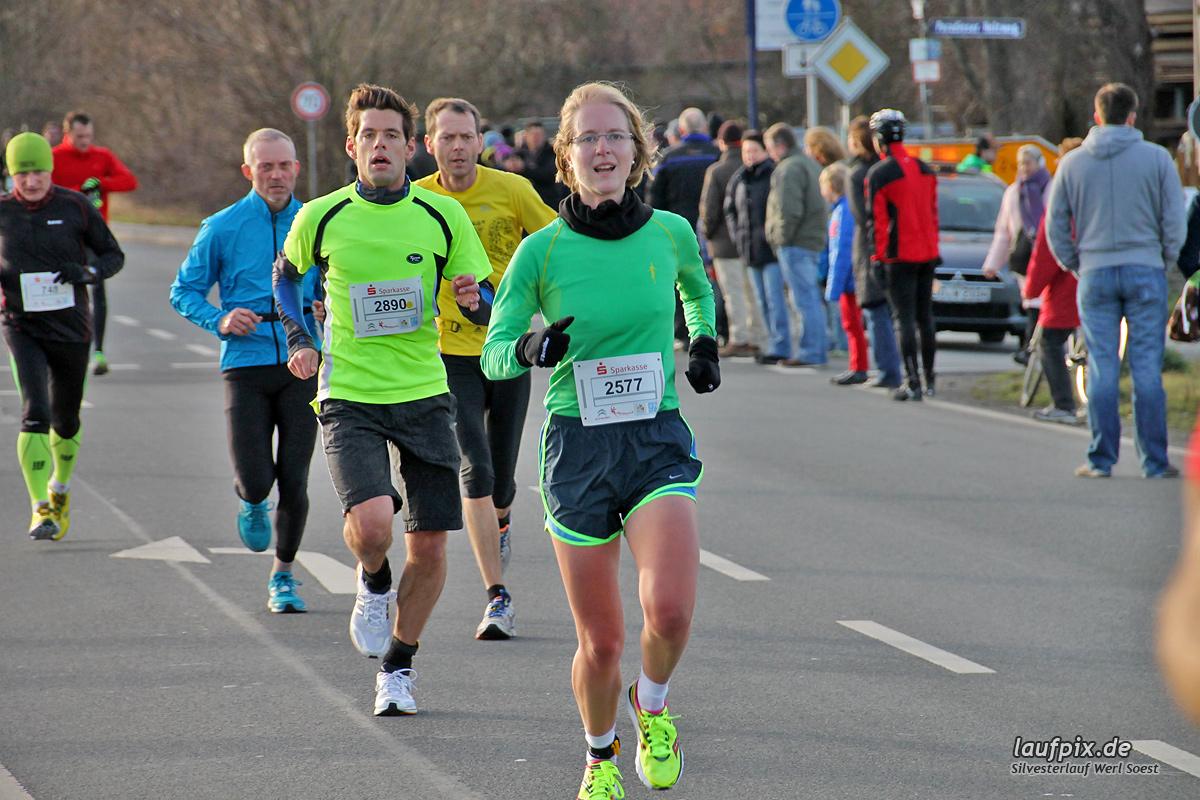 Silvesterlauf Werl Soest - Strecke 2013 Foto (188)