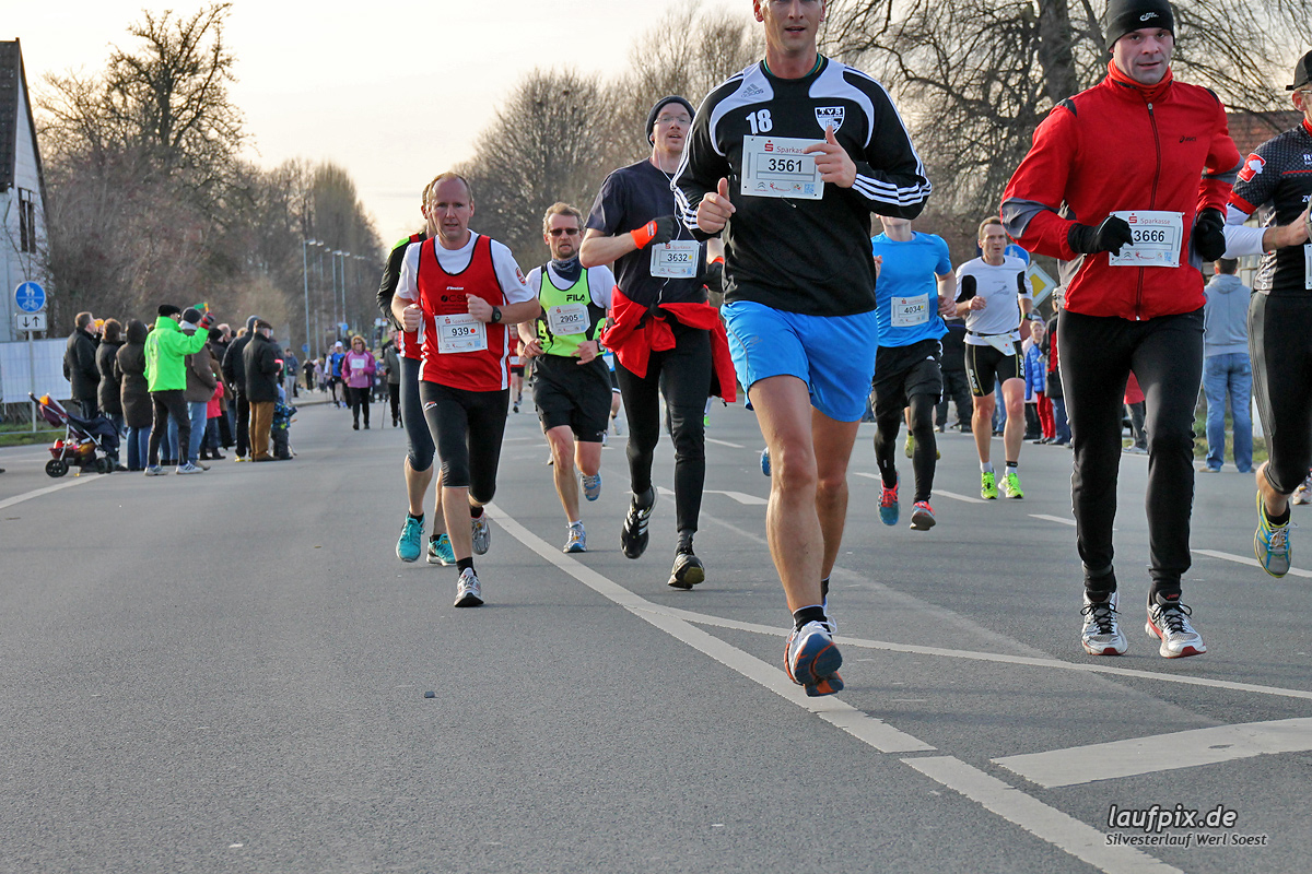 Silvesterlauf Werl Soest - Strecke 2013 - 240