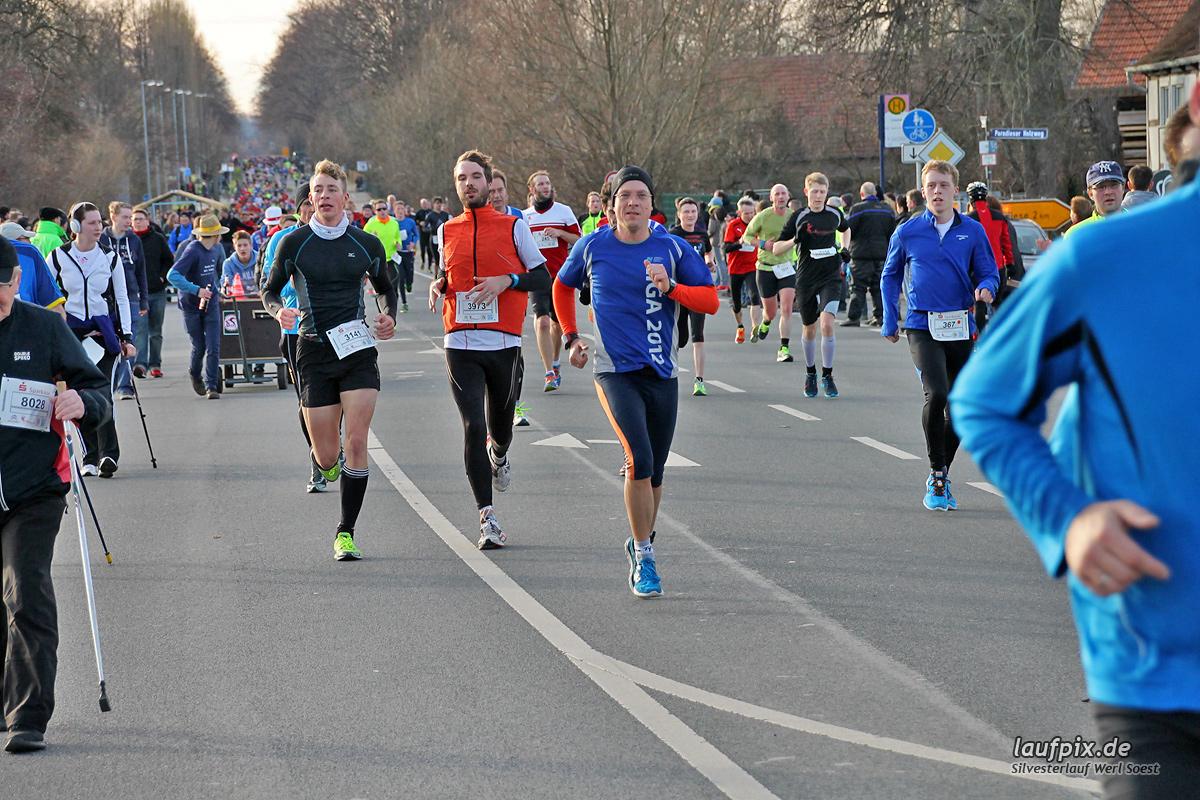 Silvesterlauf Werl Soest - Strecke 2013 - 277