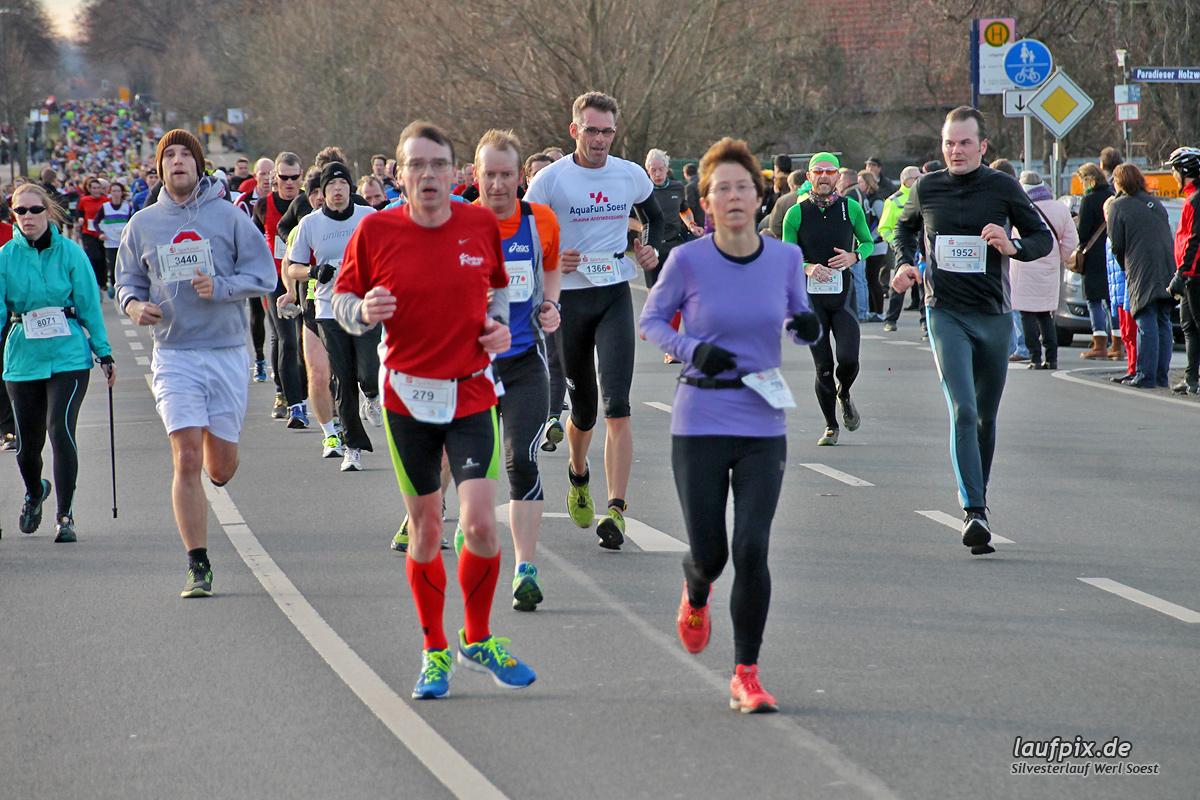 Silvesterlauf Werl Soest - Strecke 2013 - 302