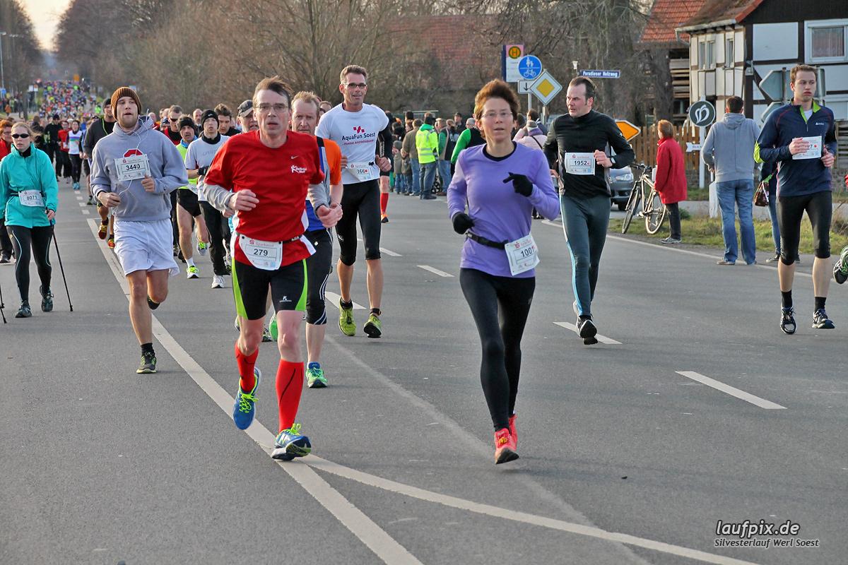 Silvesterlauf Werl Soest - Strecke 2013 - 303