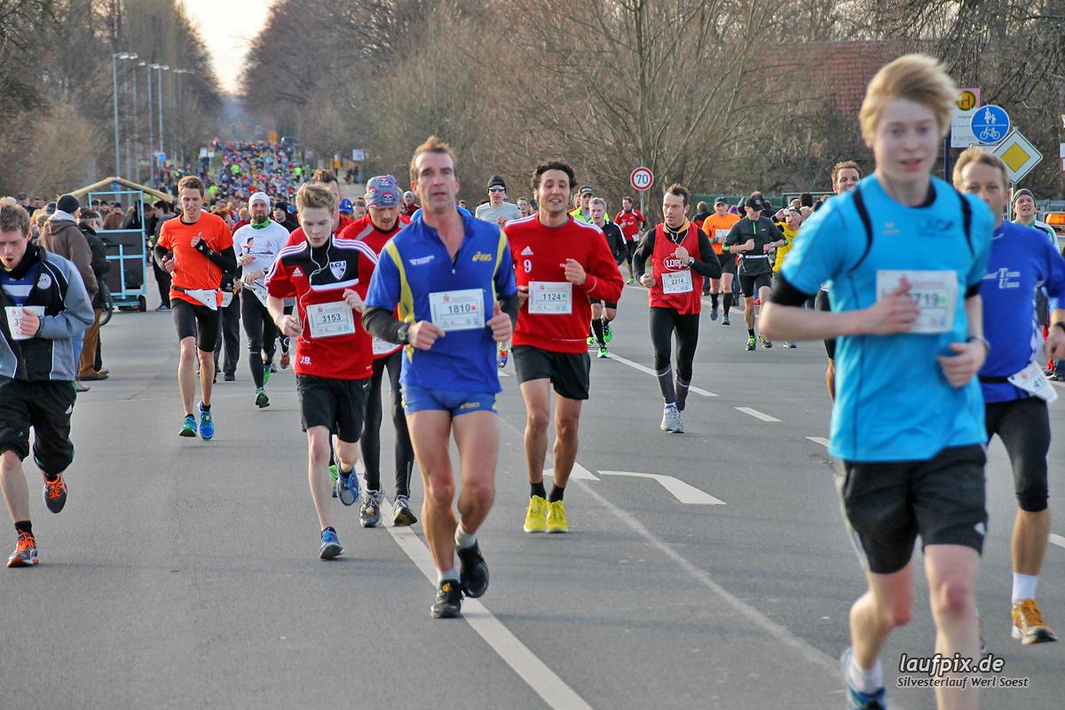 Silvesterlauf Werl Soest - Strecke 2013 - 327