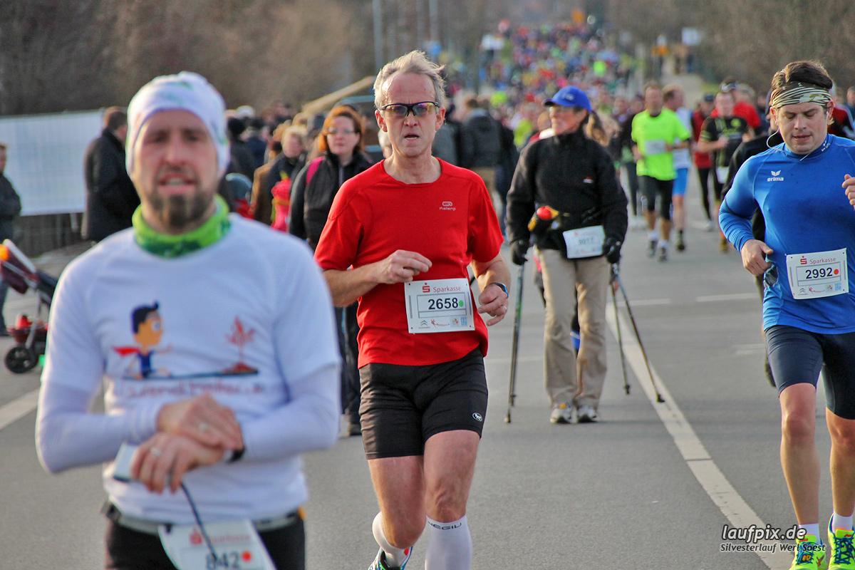 Silvesterlauf Werl Soest - Strecke 2013 - 335