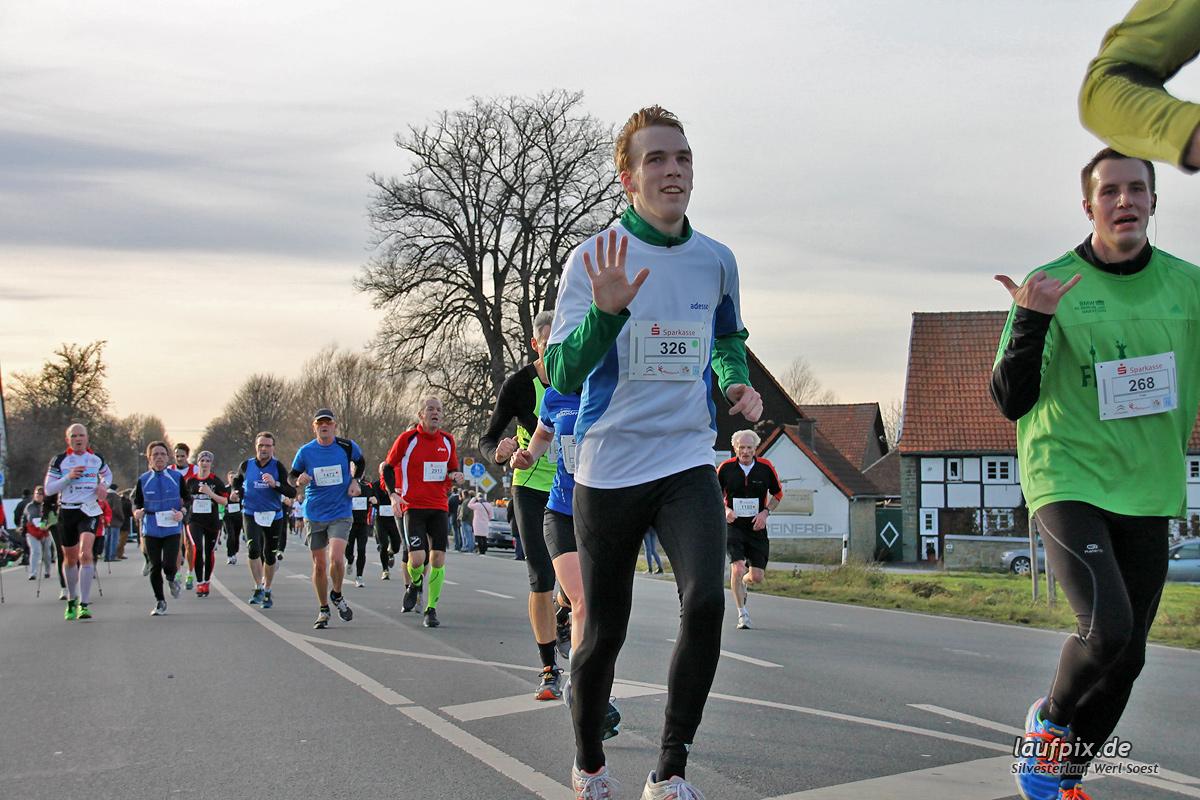 Silvesterlauf Werl Soest - Strecke 2013 - 359