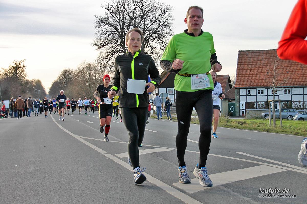 Silvesterlauf Werl Soest - Strecke 2013 - 377