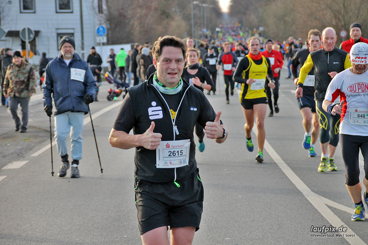Silvesterlauf Werl Soest - Strecke 2013 - 393