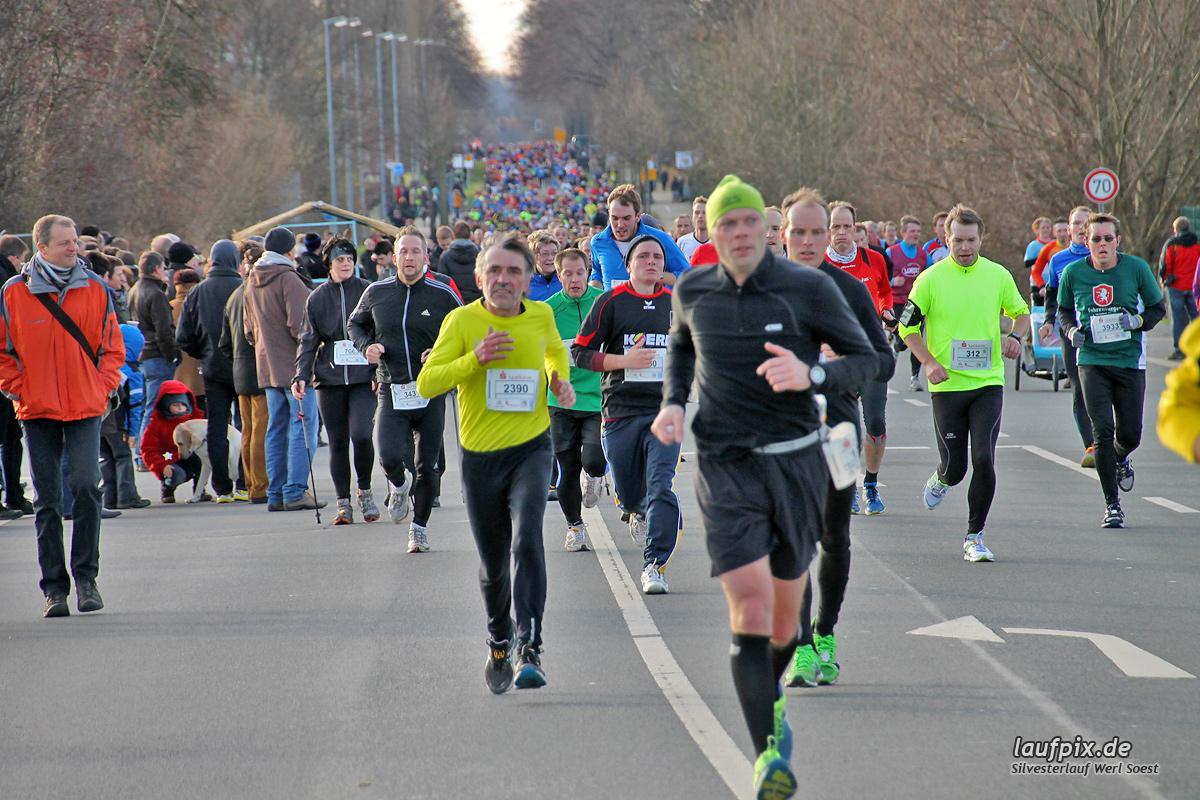 Silvesterlauf Werl Soest - Strecke 2013 - 428
