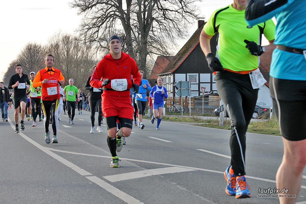 Silvesterlauf Werl Soest - Strecke 2013 - 485