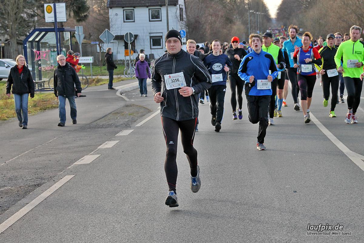 Silvesterlauf Werl Soest - Strecke 2013 - 528