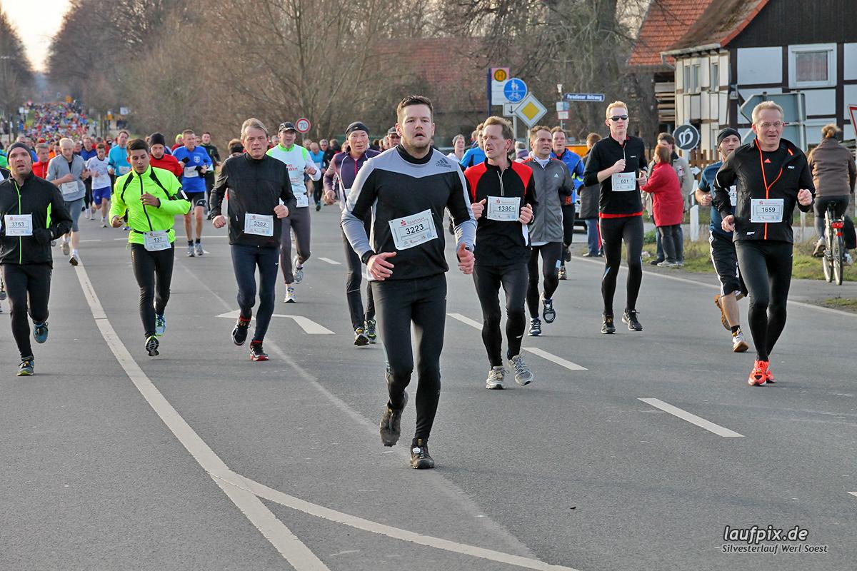 Silvesterlauf Werl Soest - Strecke 2013 - 561