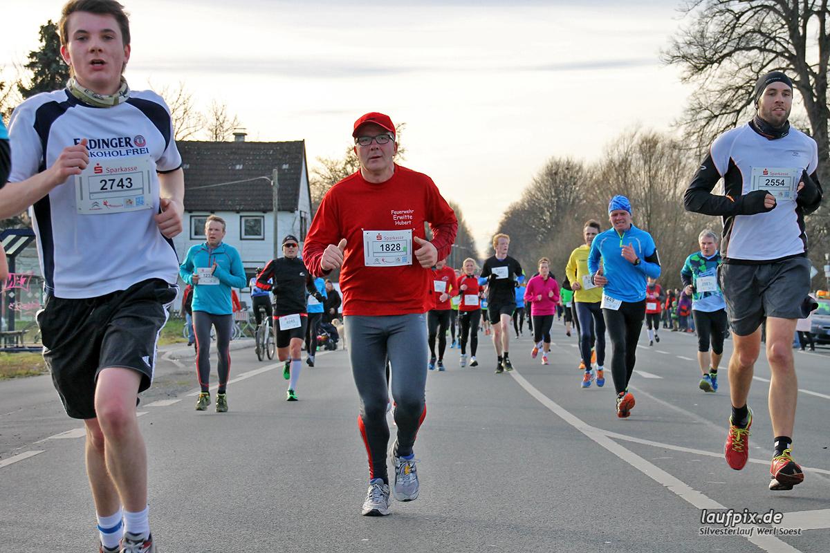 Silvesterlauf Werl Soest - Strecke 2013 - 594