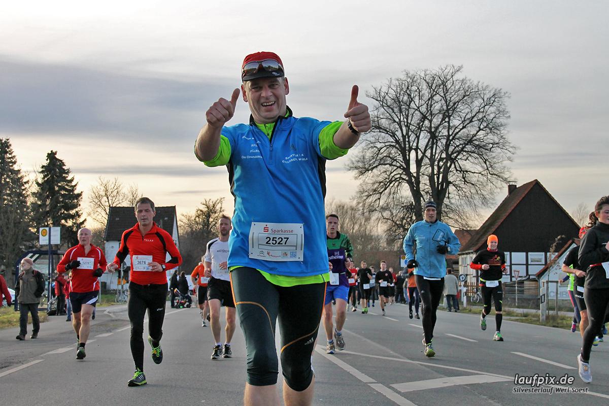 Silvesterlauf Werl Soest - Strecke 2013 Foto (619)