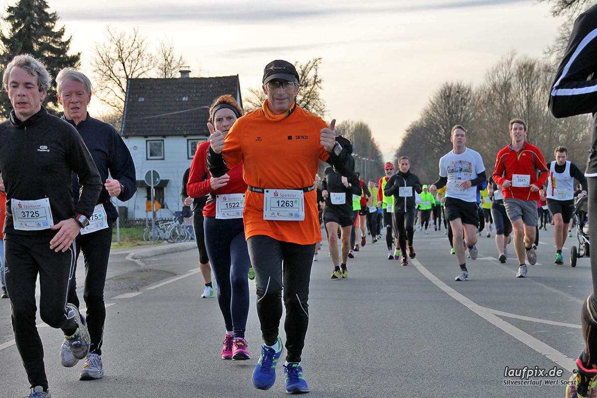 Silvesterlauf Werl Soest - Strecke 2013 - 627