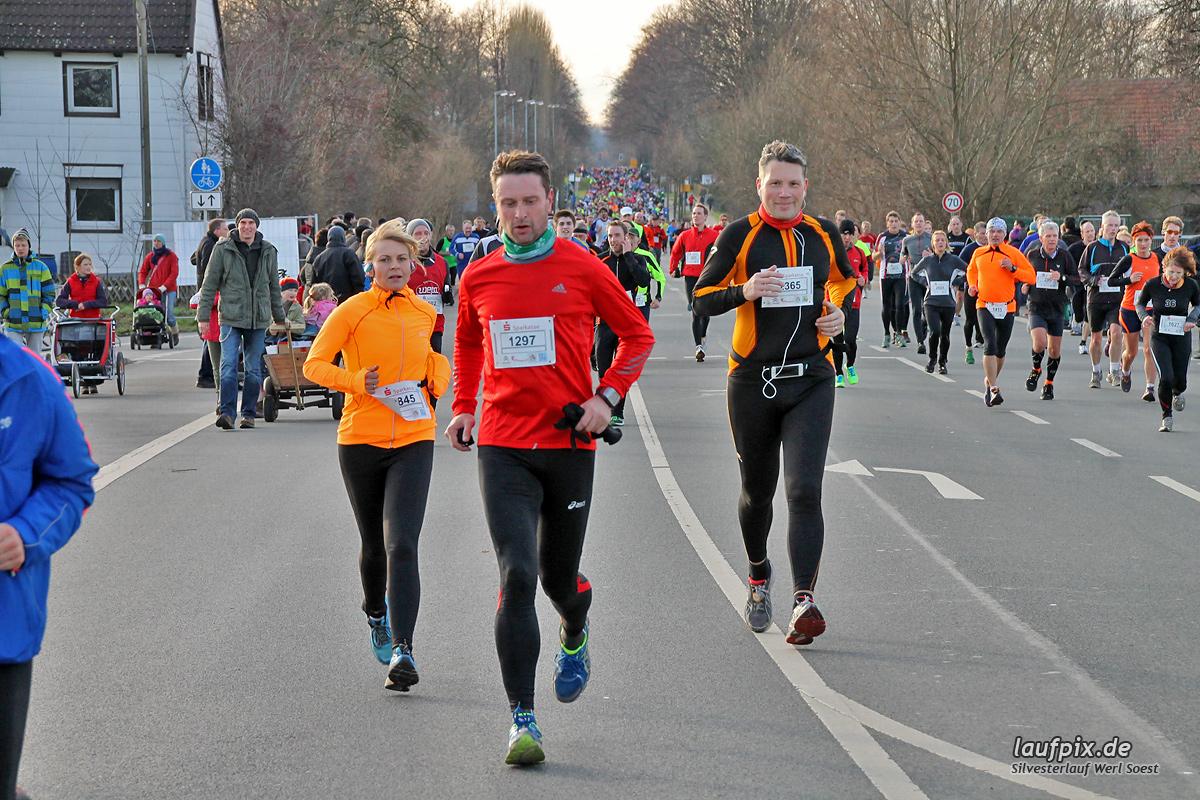 Silvesterlauf Werl Soest - Strecke 2013 - 657