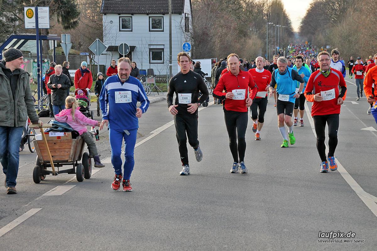 Silvesterlauf Werl Soest - Strecke 2013 - 673