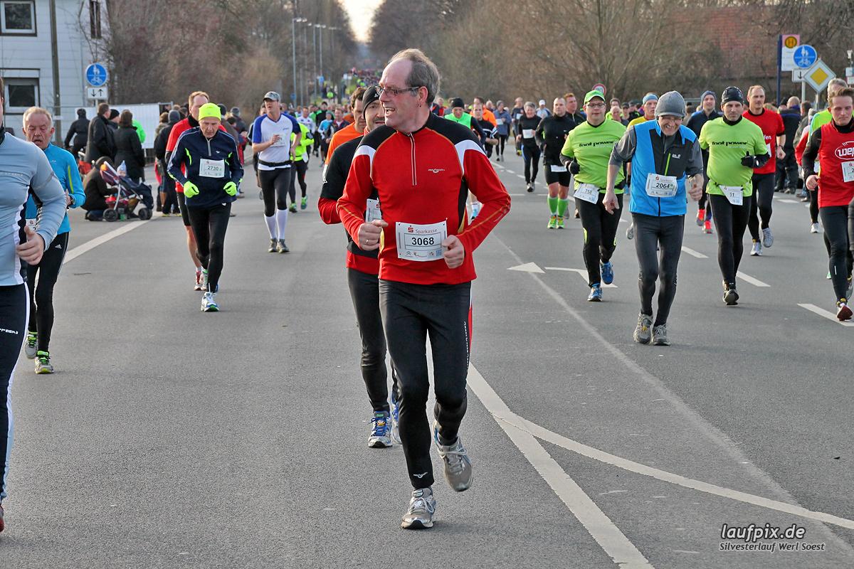 Silvesterlauf Werl Soest - Strecke 2013 - 742