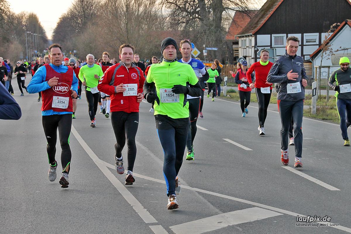 Silvesterlauf Werl Soest - Strecke 2013 - 781
