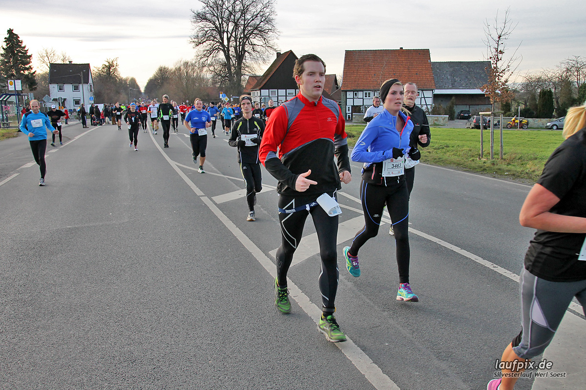 Silvesterlauf Werl Soest - Strecke 2013 - 793