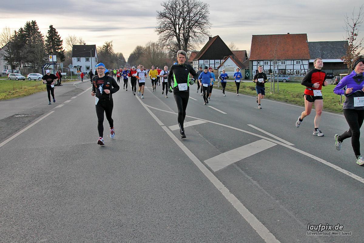 Silvesterlauf Werl Soest - Strecke 2013 - 796