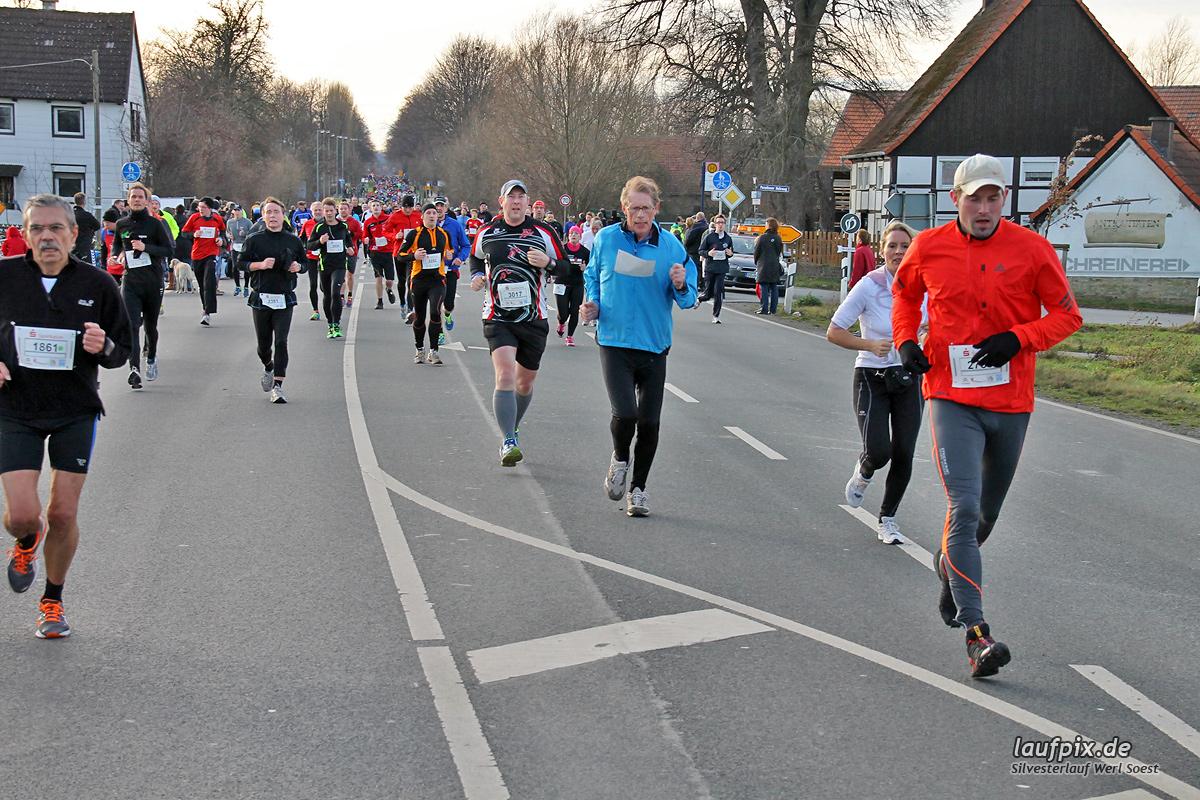 Silvesterlauf Werl Soest - Strecke 2013 - 806
